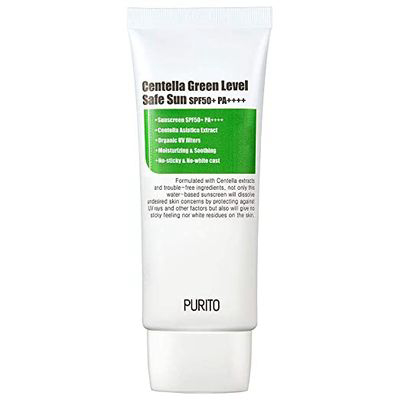 PURITO | Centella Green Level Safe Sun SPF50+ Pa++++