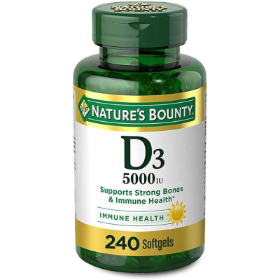 Vitamin D3 By Nature's Bounty For Immune Support