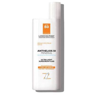 LA ROCHE-POSAY   Anthelios Ultra-Light Mineral Sunscreen Fluid SPF 50