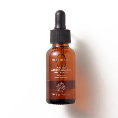 TRUE BOTANICALS   CBD 500 Anti-Inflammaging Face Oil