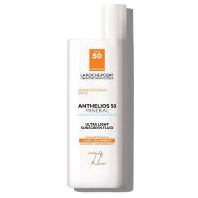 LA ROCHE-POSAY   Anthelios Ultra-Light Mineral Sunscreen Fluid SPF 50 - Non-Tinted