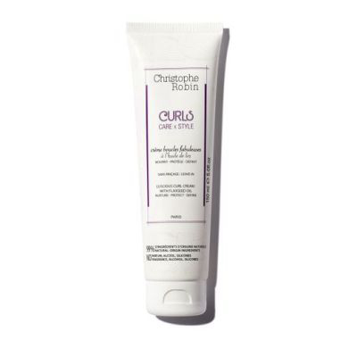 CHRISTOPHE ROBIN | Luscious Curl Cream with Flaxseed Oil