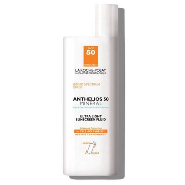 Anthelios Ultra-Light Mineral Sunscreen Fluid SPF 50 - Non-Tinted