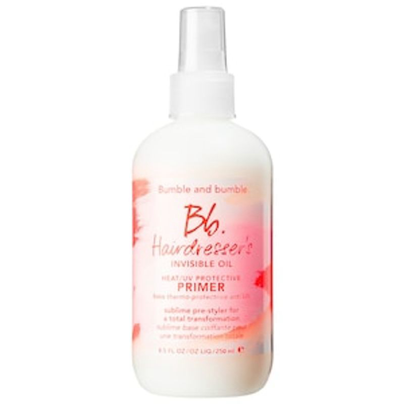 Hairdresser's Invisible Oil Heat & UV Protective Primer