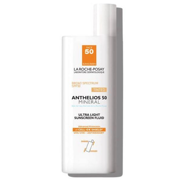 Anthelios Ultra-Light Mineral Sunscreen Fluid SPF 50 - Tinted