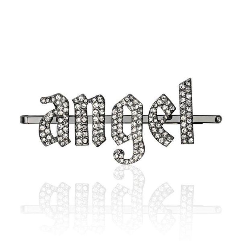 Angel Rhinestone Gothic Bobby Pin