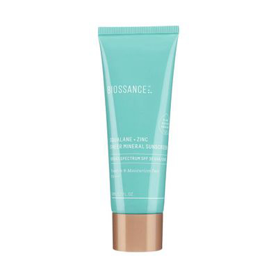 Squalane + Zinc Sheer Mineral Sunscreen